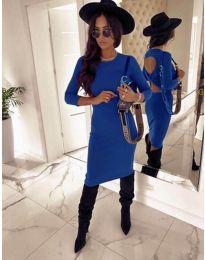 Φόρεμα - κώδ. 5169 - 2 - μπλε