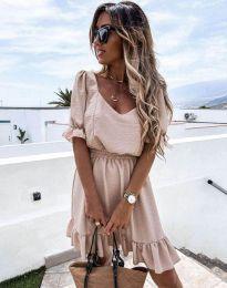 Φόρεμα - κώδ. 6460 - μπεζ