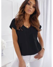Κοντομάνικο μπλουζάκι - κώδ. 920 - μαύρο