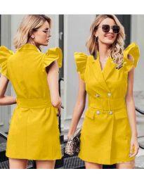 Φόρεμα - κώδ. 311 - κίτρινο
