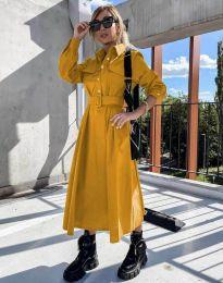 Φόρεμα - κώδ. 1467 - μουσταρδί