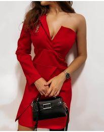 Φόρεμα - κώδ. 7128 - κόκκινο