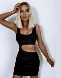 Φόρεμα - κώδ. 12001 - μαύρο