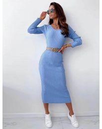 Φόρεμα - κώδ. 5878 γαλάζιο