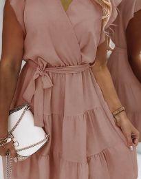 Φόρεμα - κώδ. 2345 - πούδρα