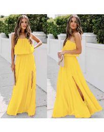 Φόρεμα - κώδ. 061 - κίτρινο