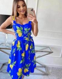 Φόρεμα - κώδ. 8840 - μπλε