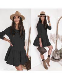 Φόρεμα - κώδ. 8486 - μαύρο