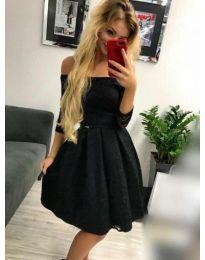 Φόρεμα - κώδ. 395 - 2 - μαύρο