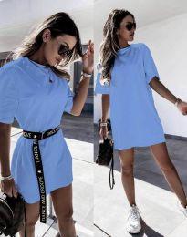 Φόρεμα - κώδ. 8809 - navy μπλε