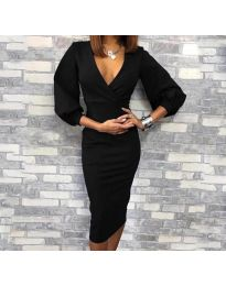 Φόρεμα - κώδ. 8706 - 1 - μαύρο