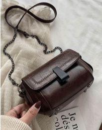Τσάντα - κώδ. B415 - σκούρο καφέ