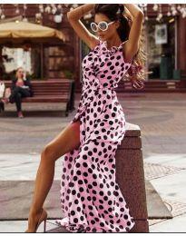 Φόρεμα - κώδ. 0726 - ροζ