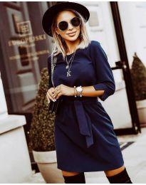 Φόρεμα - κώδ. 6100 - σκούρο μπλε