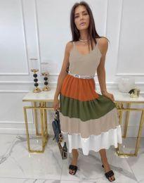 Φόρεμα - κώδ. 3392 - πολύχρωμο