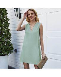 Φόρεμα - κώδ. 1429 - ανοιχτό πράσινο
