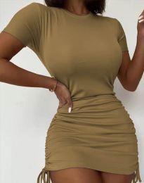 Φόρεμα - κώδ. 5569 - μπεζ
