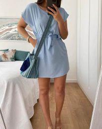 Φόρεμα - κώδ. 2258 - γαλάζιο