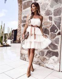 Φόρεμα - κώδ. 3065 - λευκό
