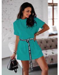 Φόρεμα - κώδ. 809 - τυρκουάζ