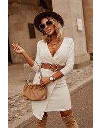 Φόρεμα - κώδ. 9977 - λευκό