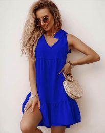 Φόρεμα - κώδ. 7206 - μπλε