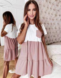 Φόρεμα - κώδ. 2506 - πούδρα