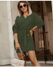 Φόρεμα - κώδ. 9876 - πράσινο