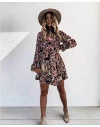 Φόρεμα - κώδ. 248 - 2 - πολύχρωμο