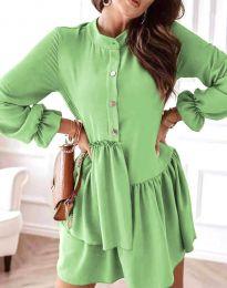Φόρεμα - κώδ. 2829 - ανοιχτό πράσινο