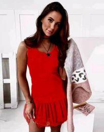 Φόρεμα - κώδ. 2994 - κόκκινο