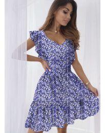Φόρεμα - κώδ. 6088 - μωβ