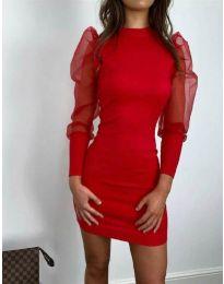Φόρεμα - κώδ. 3545 - κόκκινο
