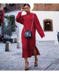 Φόρεμα - κώδ. 5501 - μπορντό