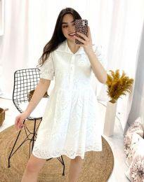 Φόρεμα - κώδ. 0517 - 1 - λευκό