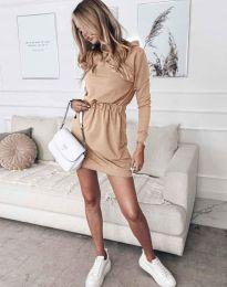 Φόρεμα - κώδ. 7846 - μπεζ