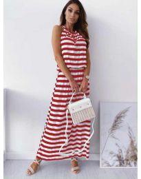 Φόρεμα - κώδ. 1515 - κόκκινο