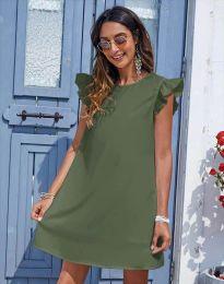 Φόρεμα - κώδ. 6261 - λαδί