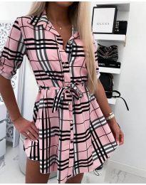 Φόρεμα - κώδ. 859 - ροζ