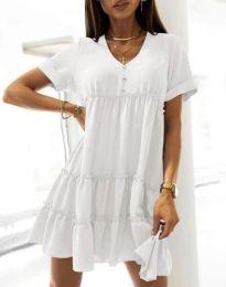 Φόρεμα - κώδ. 7205 - λευκό
