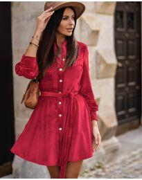 Φόρεμα - κώδ. 3999 - κόκκινο