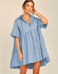Φόρεμα - κώδ. 6464 - γαλάζιο