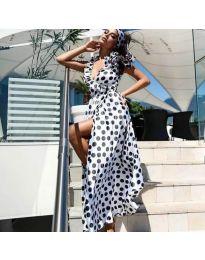 Φόρεμα - κώδ. 0726 - λευκό