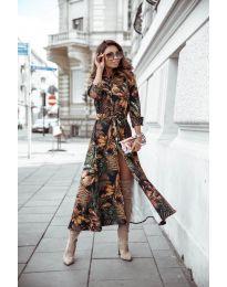 Φόρεμα - κώδ. 7494 - 1 - πολύχρωμο
