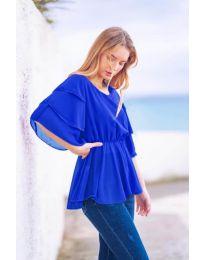 Κοντομάνικο μπλουζάκι - κώδ. 504 - μπλε