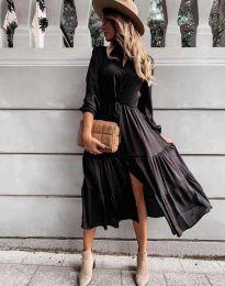 Φόρεμα - κώδ. 6522 - μαύρο