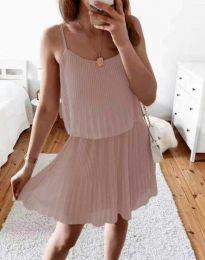 Φόρεμα - κώδ. 8596 - πούδρα