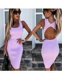 Φόρεμα - κώδ. 692 - μωβ