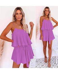 Φόρεμα-κωδ.721-μωβ