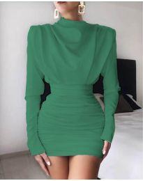 Φόρεμα - κώδ. 8257 - πράσινο